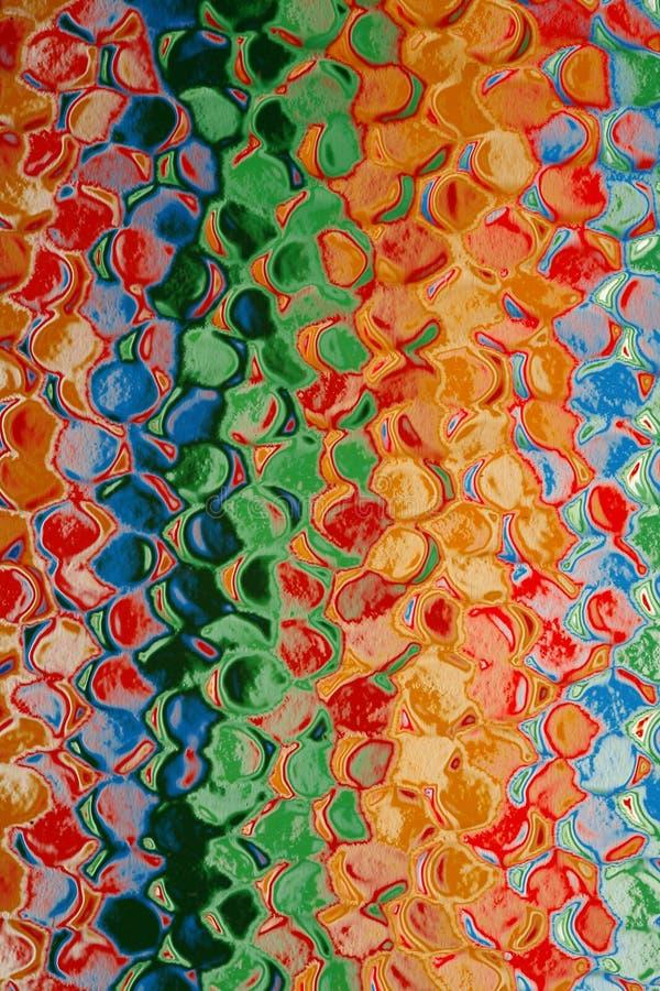 абстрактная multicolor картина стоковое фото