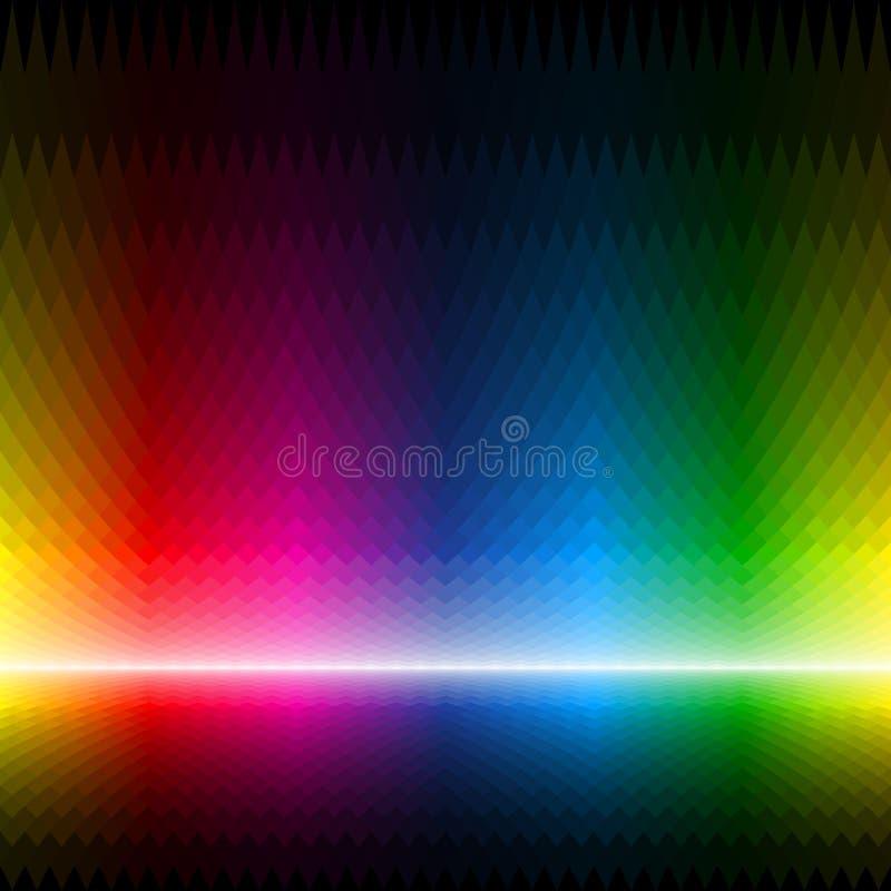 Абстрактная multicolor предпосылка иллюстрация вектора
