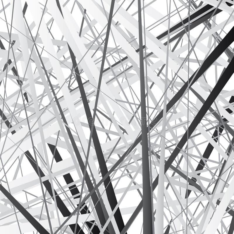Абстрактная striped текстура с раскосный насиживать бесплатная иллюстрация