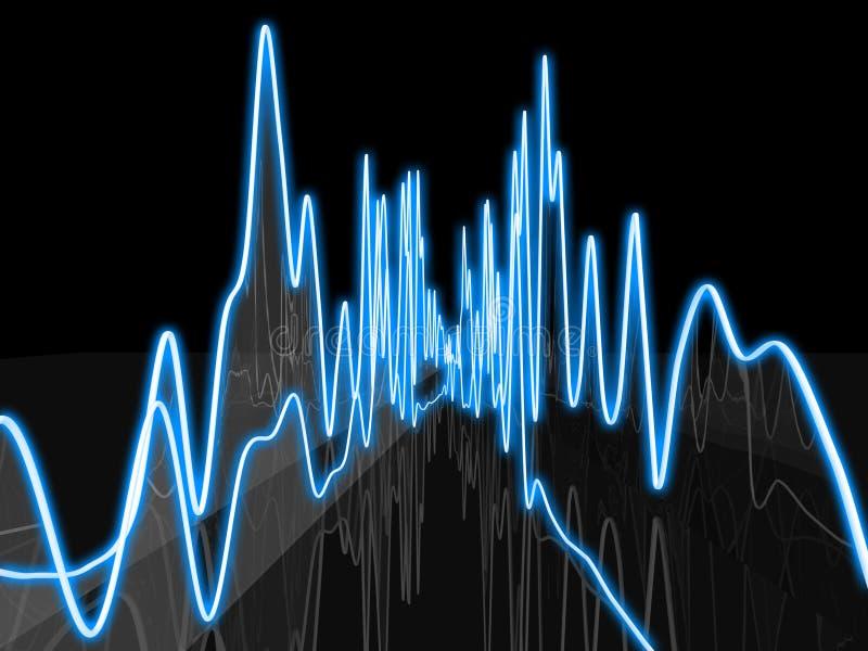 абстрактное аудио стоковая фотография rf