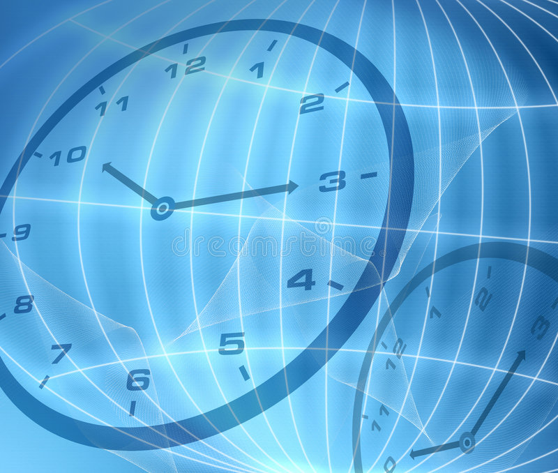 абстрактное время принципиальной схемы стоковая фотография