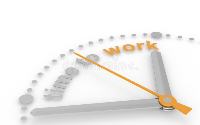 абстрактное время часов работать бесплатная иллюстрация