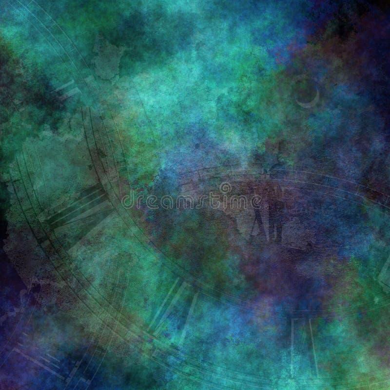 абстрактное время иллюстрация штока