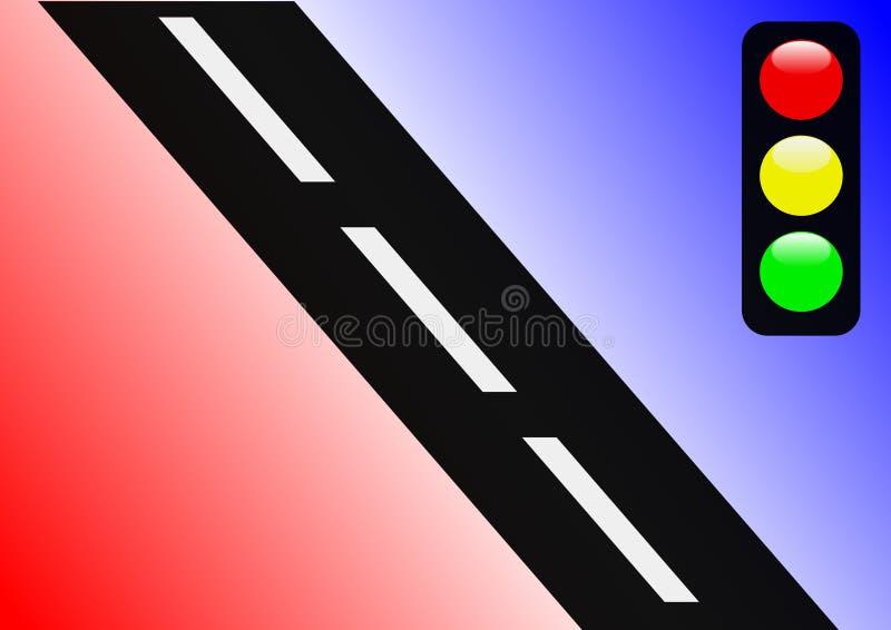 абстрактное движение сигнала бесплатная иллюстрация