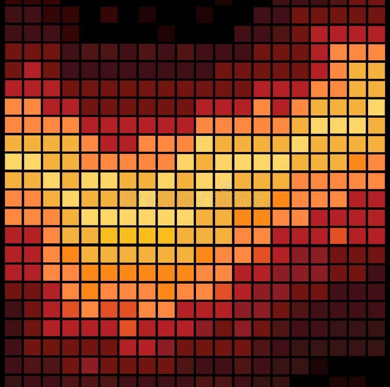 абстрактное диско предпосылки иллюстрация вектора