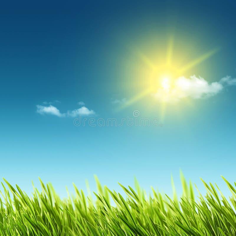абстрактное лето весны предпосылок иллюстрация вектора