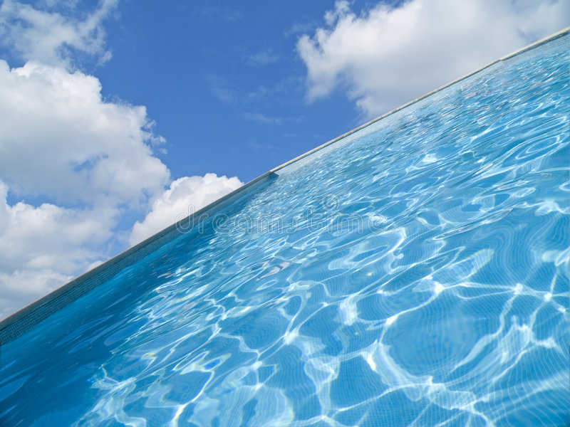 абстрактное заплывание бассеина стоковое изображение rf