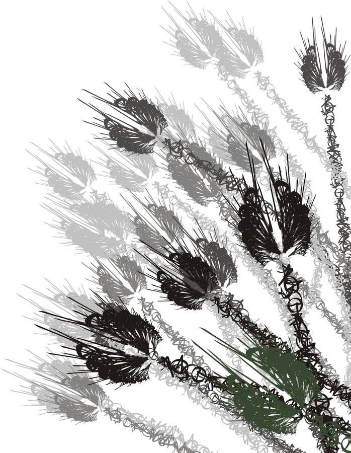 абстрактное зерно стоковая фотография rf
