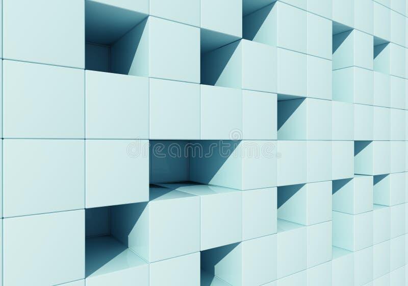 Абстрактное изображение кубиков бесплатная иллюстрация