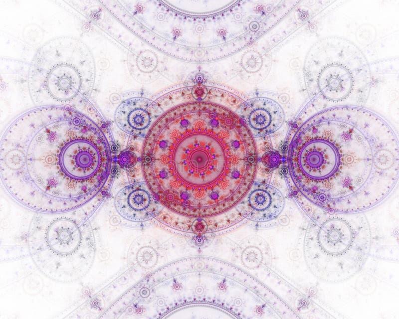 абстрактное изображение фрактали цвета бесплатная иллюстрация