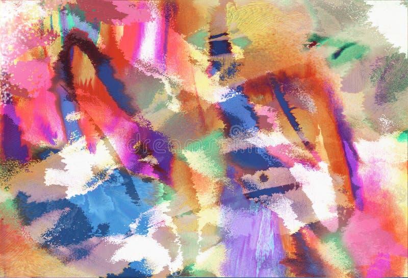 абстрактное искусство самомоднейшее иллюстрация штока