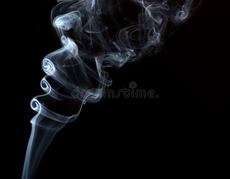 Абстрактное искусство с дымом стоковые изображения