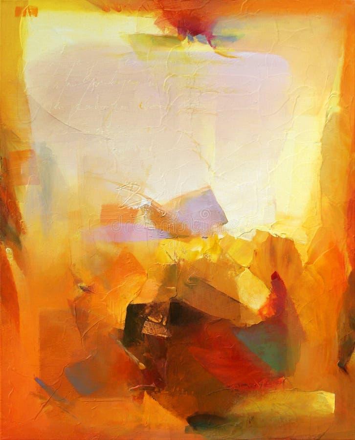 абстрактное искусство иллюстрация вектора