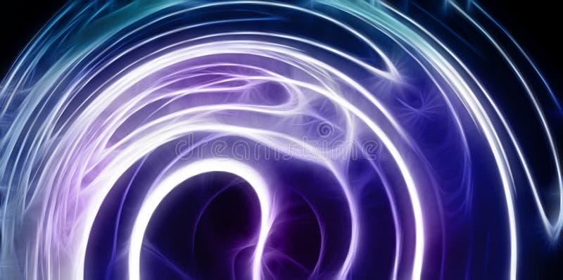 Абстрактное колесо неограниченной энергии иллюстрация штока