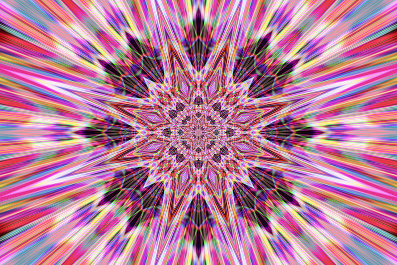 абстрактное мандала иллюстрация штока