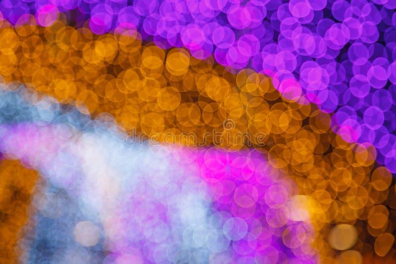 Абстрактное мечтательное чувствительное мягкое нежное defocused освещение Bokeh белого света Хороший для предпосылки, фона, карти стоковое изображение rf