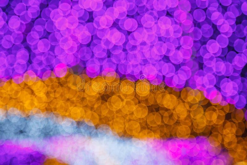 Абстрактное мечтательное чувствительное мягкое нежное defocused освещение Bokeh белого света Хороший для предпосылки, фона, карти стоковая фотография rf