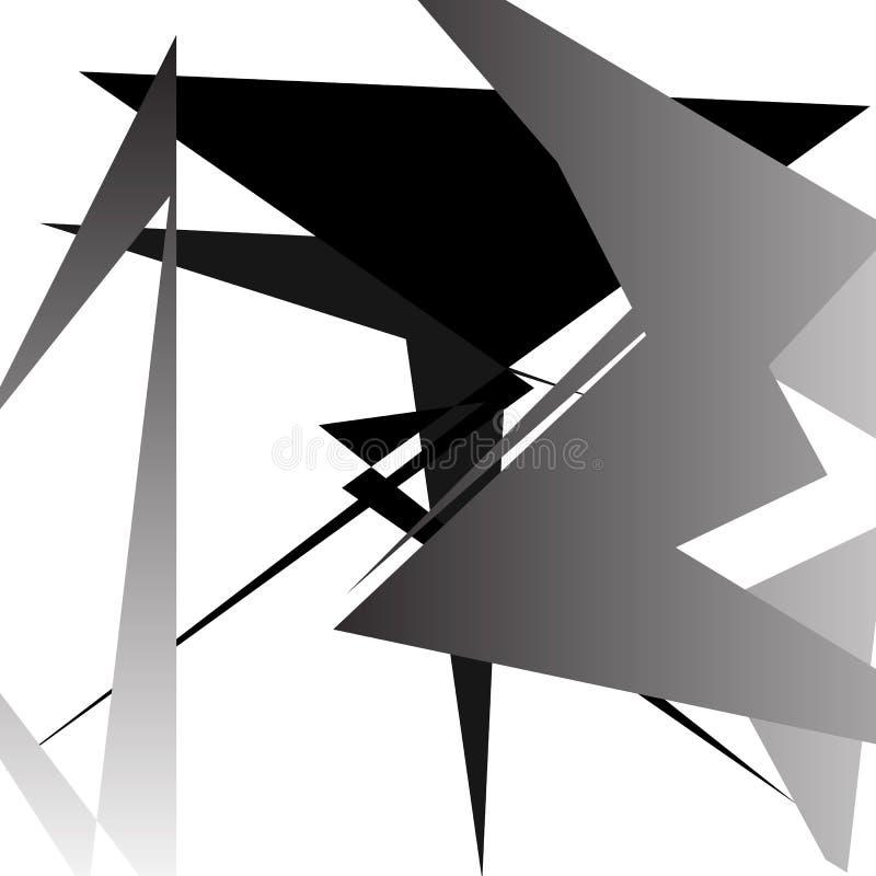 Download Абстрактное минимальное искусство - случайный нервный перекрывать формирует Иллюстрация вектора - иллюстрации насчитывающей минимально, пересекать: 81808721