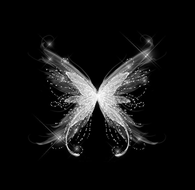 абстрактное очарование бабочки иллюстрация штока