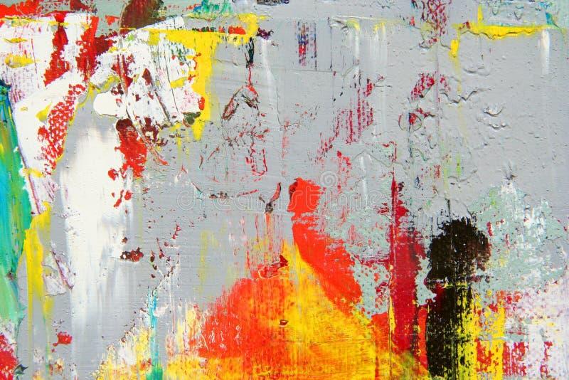 Абстрактное произведение искысства как предпосылка стоковая фотография