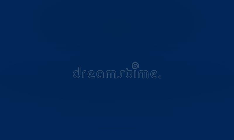 Абстрактное ровное синее с черной пользой колодца студии виньетки как предпосылка, бизнес-отчет, цифровой, шаблон вебсайта бесплатная иллюстрация