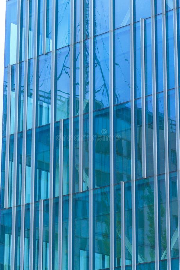 Абстрактное самомоднейшее здание стоковые изображения rf