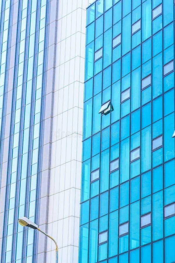 Абстрактное самомоднейшее здание стоковое фото rf