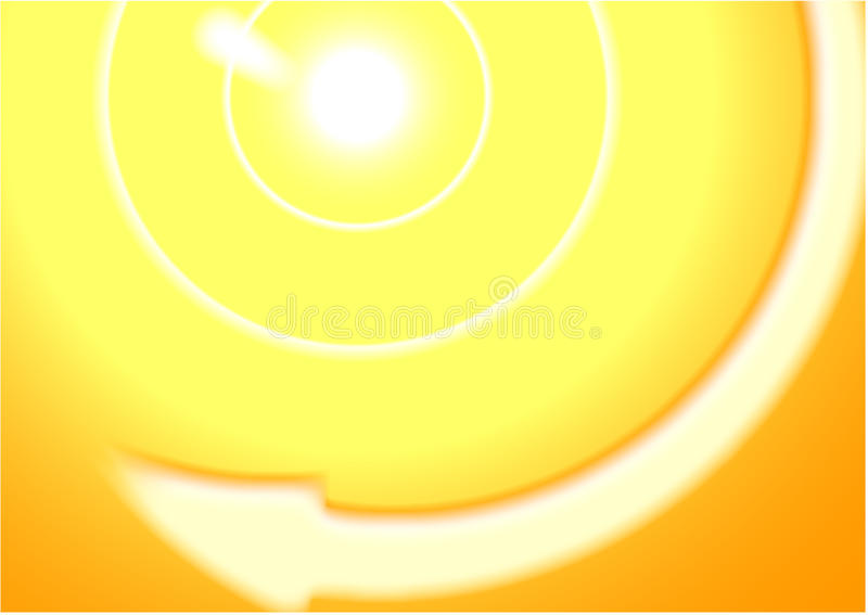 абстрактное солнце предпосылки стоковая фотография rf