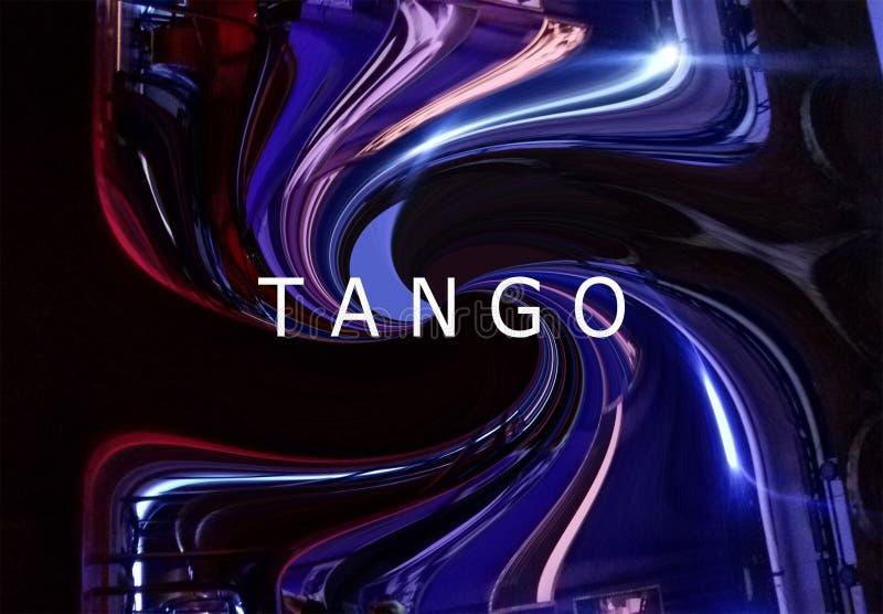 Абстрактное танго backgroud стоковые фото