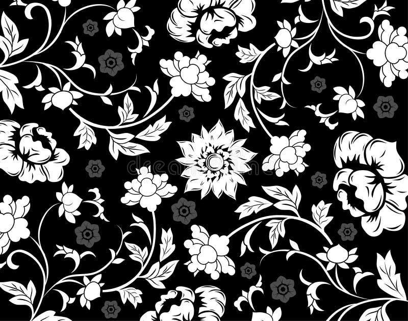 абстрактное флористическое vecto картины иллюстрация штока