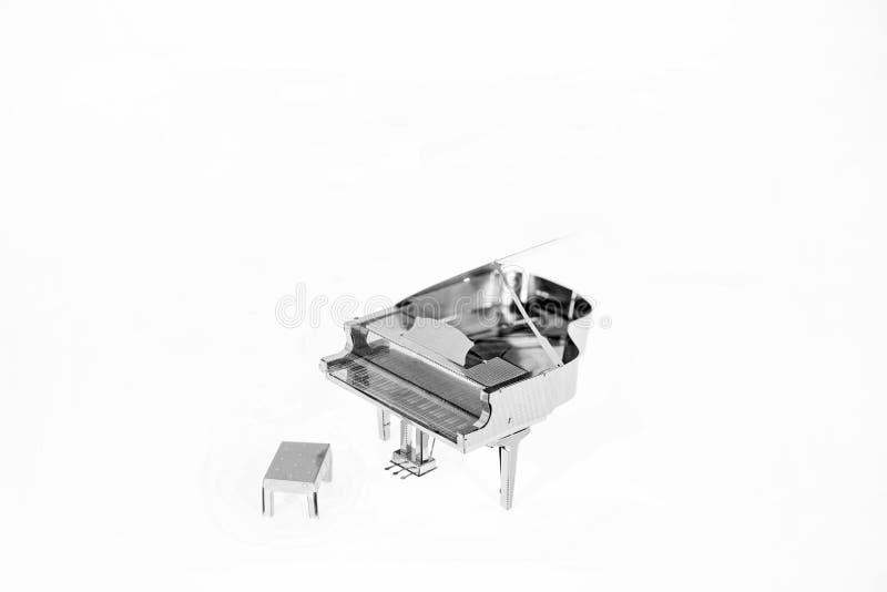 Абстрактное фото музыки Джазовая музыка рояля стоковое изображение