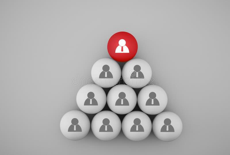 Абстрактное фото управления человеческих ресурсов и концепции команды дела рекрутства, соединяя реальности, иерархию и HR стоковое изображение