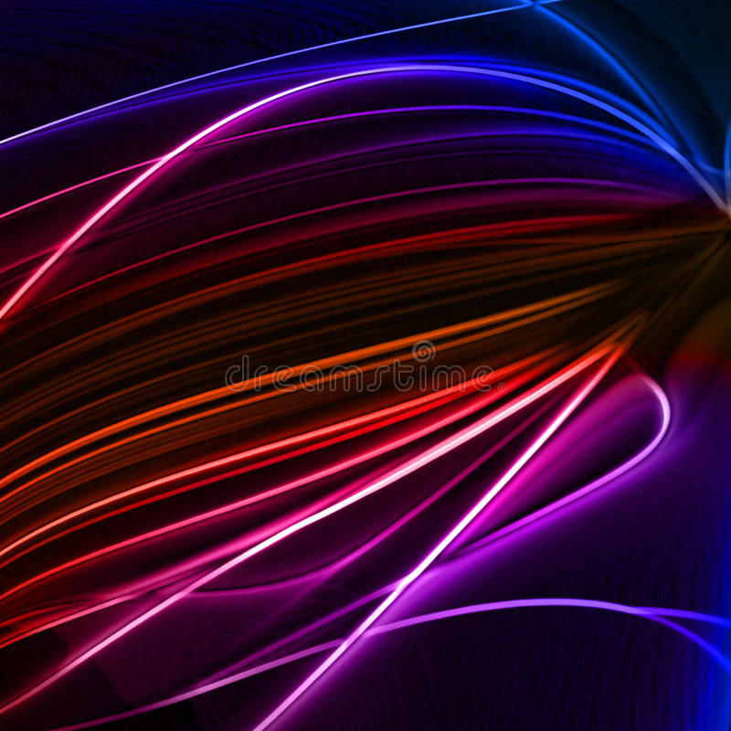 абстрактное цветастое lines6 бесплатная иллюстрация