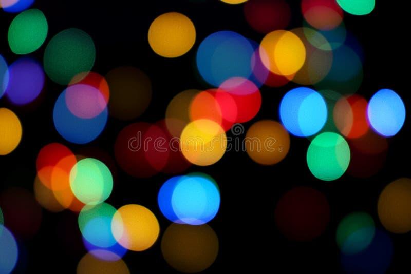 абстрактное bokeh предпосылки цветастое стоковые фото