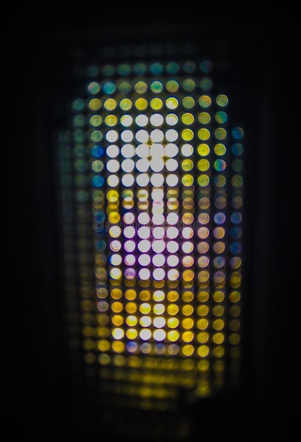 Абстрактное Bokeh света ночи стоковое фото rf