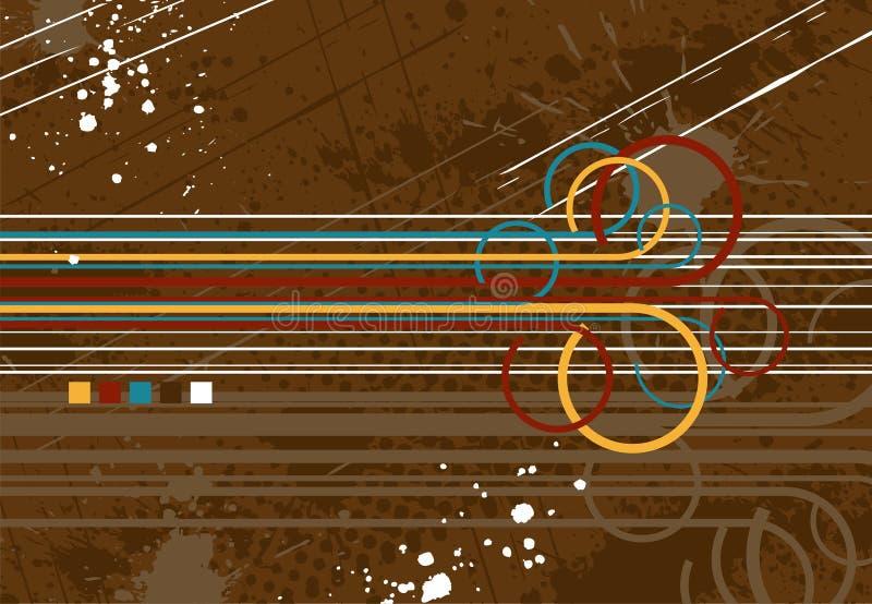 абстрактное grang предпосылки иллюстрация штока