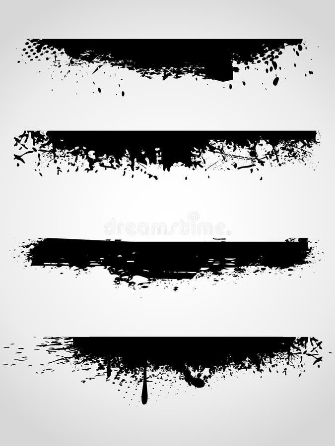 абстрактное grunge знамен бесплатная иллюстрация