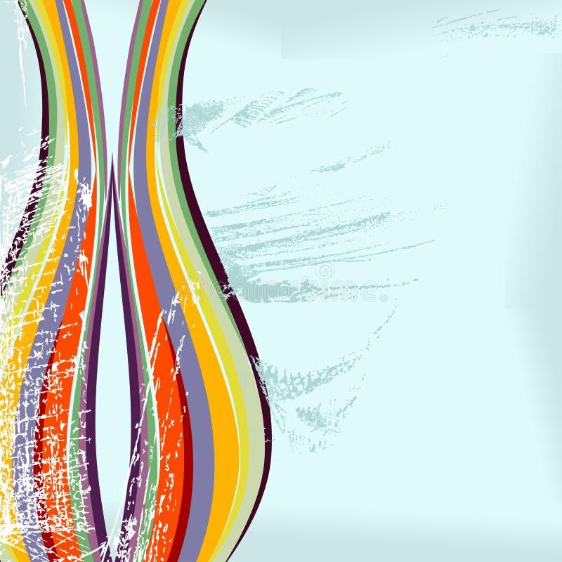абстрактное grunge конструкции иллюстрация вектора