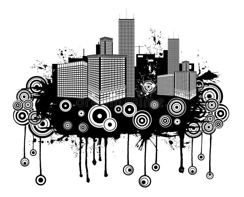 абстрактное grunge урбанское бесплатная иллюстрация