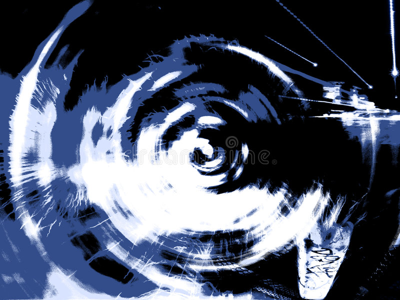 абстрактное nite жизни бесплатная иллюстрация