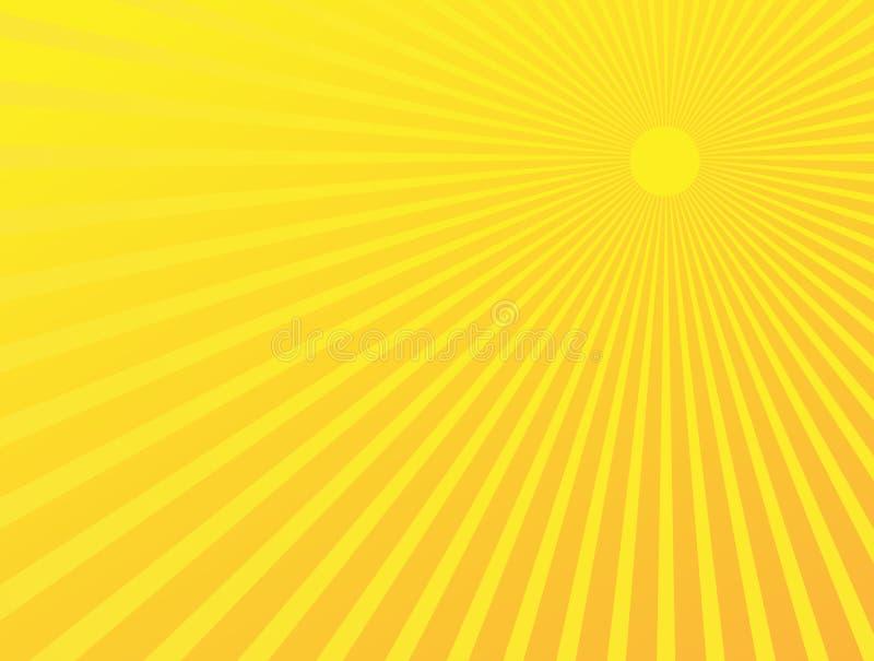 абстрактное starburst предпосылки иллюстрация штока