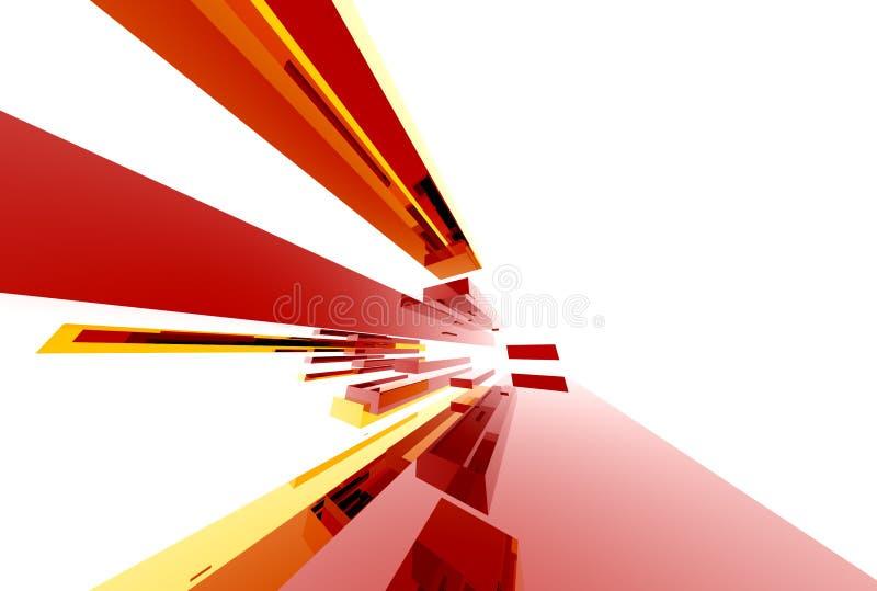абстрактное structure015 иллюстрация вектора