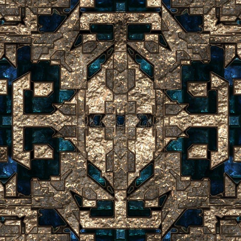 абстрактное techno типа предпосылки стоковая фотография rf