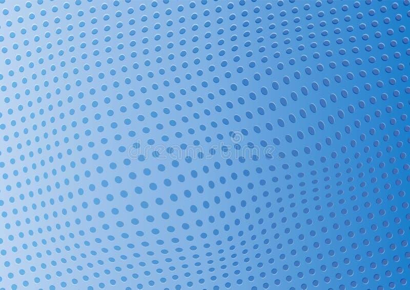 Абстрактной голубой отверстия пефорированные предпосылкой вектор иллюстрация вектора