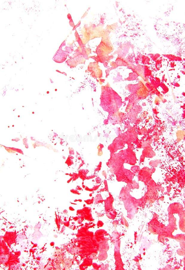 Абстрактной картина/графики нарисованные рукой стоковое фото