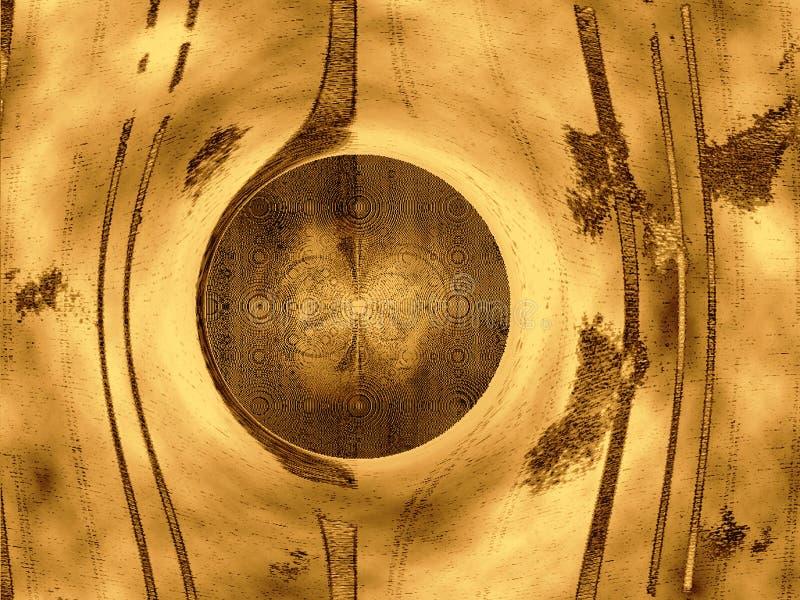 абстрактной линии объезжанные предпосылкой Стоковые Фото