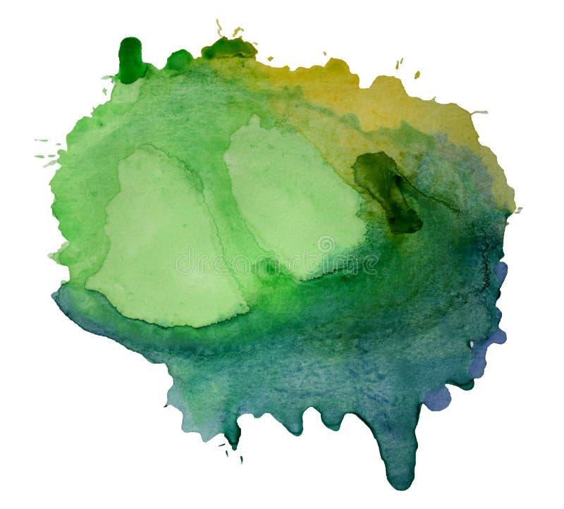 абстрактной нарисованная предпосылкой акварель руки бесплатная иллюстрация
