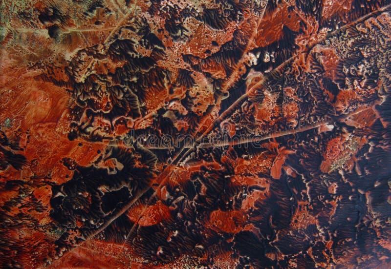 Абстрактной нарисованная рукой предпосылка краски стоковое изображение rf