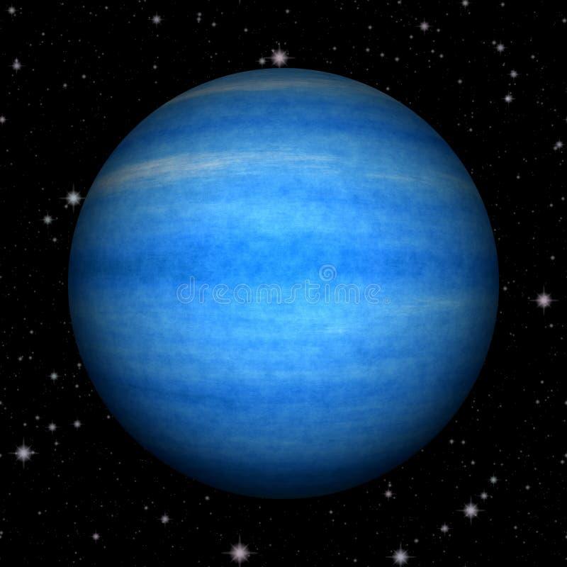 Абстрактной предпосылка текстуры Нептуна произведенная планетой иллюстрация штока