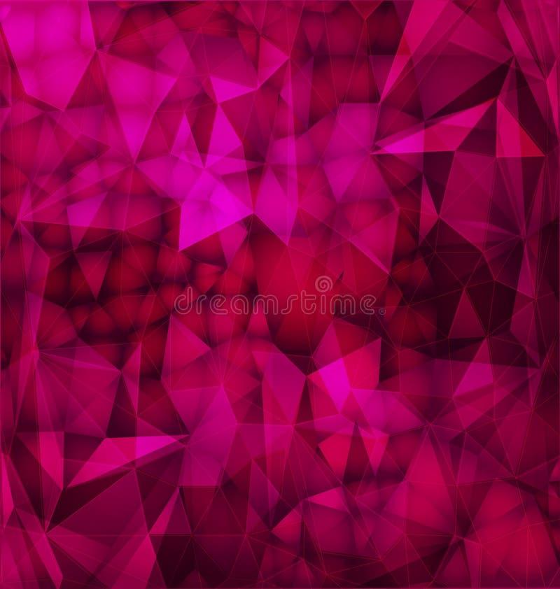 абстрактной стекло сломанное предпосылкой иллюстрация штока